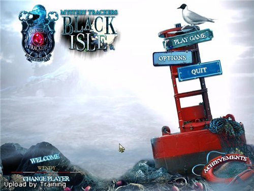 Mystery Trackers 3: Black Isle Collector's Edition Main Menu