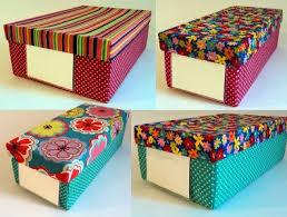 Reutilize caixas de papelão