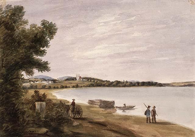Vue of Beauport near Quebec