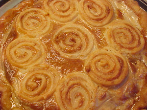 Tarte au sucre Rose-Anna