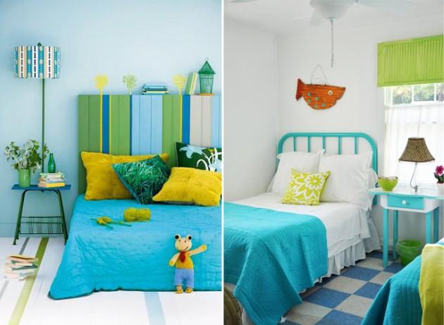 Decoração de quarto pequeno de menino