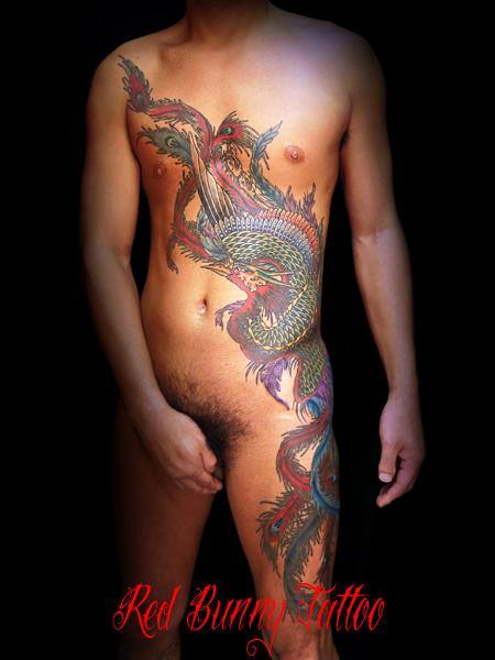 鳳凰 刺青