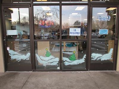 ©2013 Lauren T Kistner, Window Mural, Vapoligy, Boise, Idaho