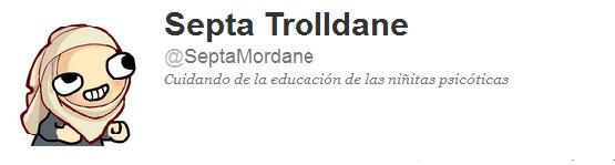 @SeptaMordane, Septa Trolldane en twitter