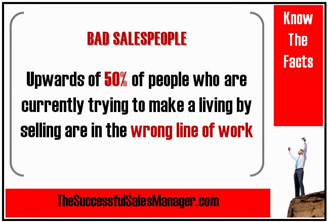 Bad Sales Statistics