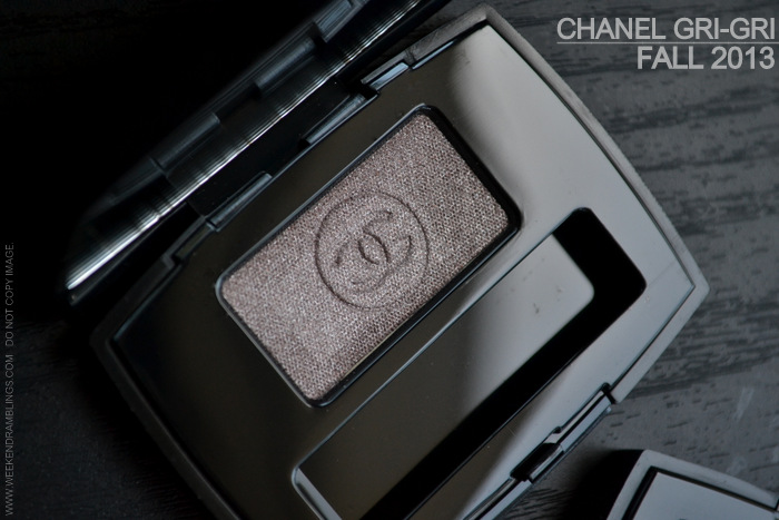 Chanel Ombre Essentielle Soft Touch Single Eyeshadows Gri-Gri metallic taupe Fall 2013 Superstition Makeup Collection Photos Swatches FOTD Review Looks Indian Darker Skin Beauty Blog