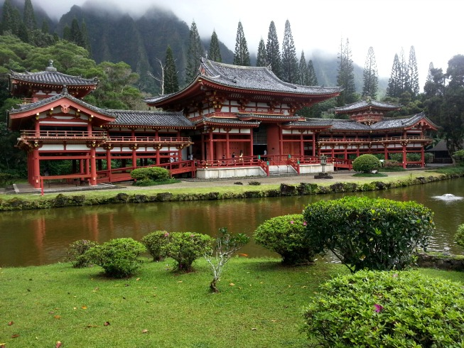 byodo-in, valley of the temples, oahu, hawaii
