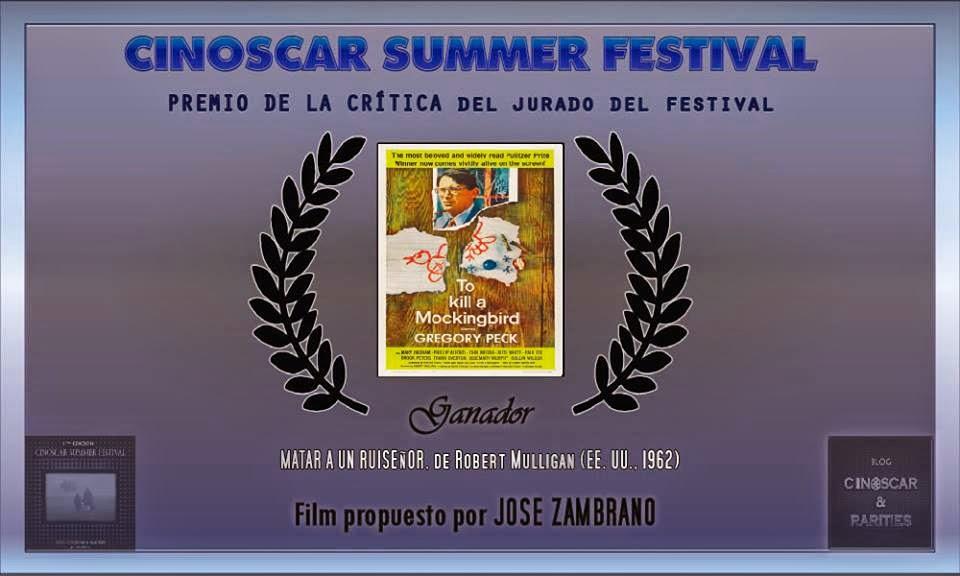 Premio de la Crítica del Jurado del Cinoscar Festival Summer