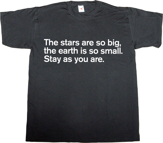 brilliant sentence cosmos marshall mcluhan media t-shirt ephemeral-t-shirts