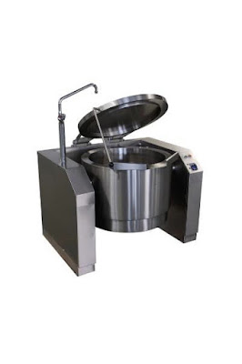 Gas Manual And Automatic Tilting Boiling Pan