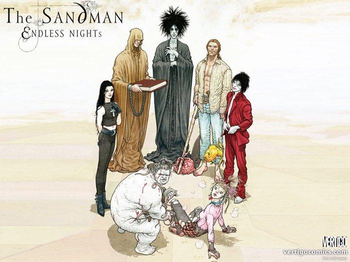 The Sandman - Neil Gaiman - Frank Quitely - Endless Nights -