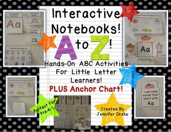 http://www.teacherspayteachers.com/Product/Interactive-Notebook-From-A-to-Z-ABC-Journal-for-Little-Letter-Learners-885989