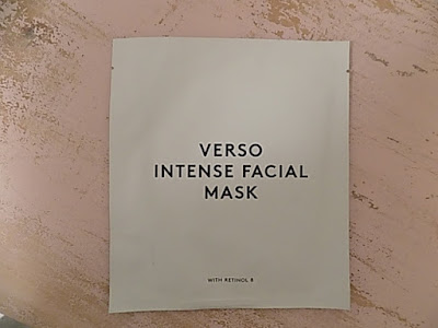 Verso Intense Facial Mask Review