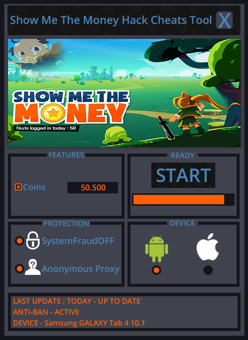 Show Me The Money Hack