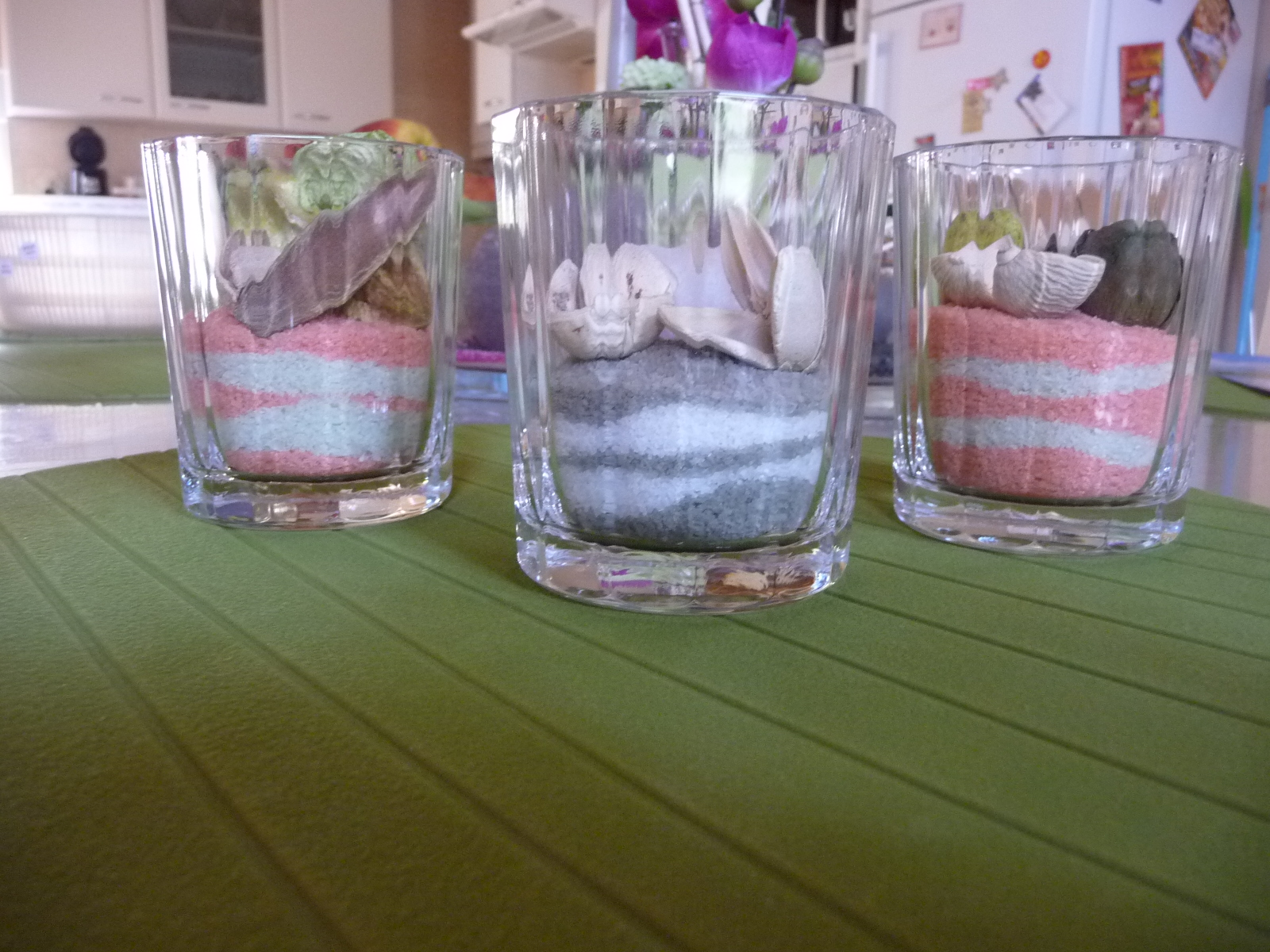 Rosenoire creative petites d co faites avec du sel color - Desherber avec du sel ...
