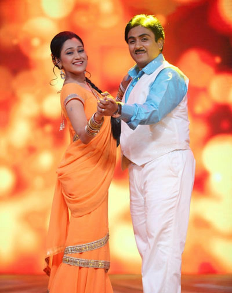 Dilip Joshi And Disha Vakani Wallpapers Free Download