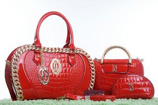 Tas KW Cartier Apple Queen Set Glossy 8869HT Jakarta