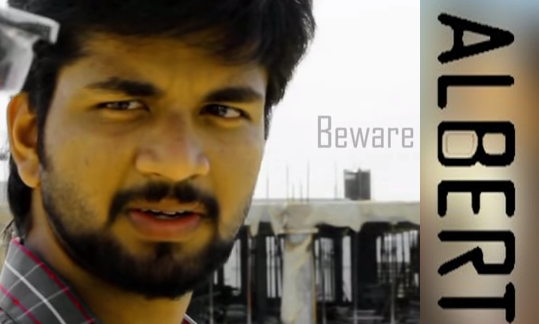 albert telugu short film poster