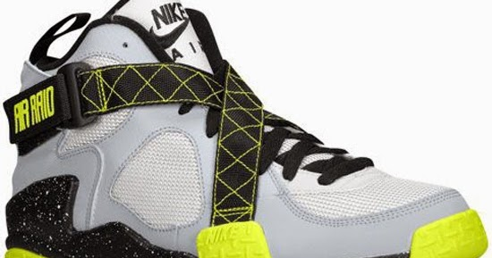 ajordanxi Your  1 Source For Sneaker Release Dates  Nike Air Raid Wolf Grey Pure  Platinum-Venom Green Release Reminder 4c516205eed1