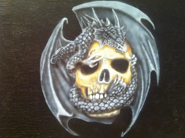 photo3 tuto skull et dragon par bysoairdisign