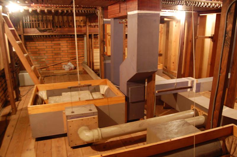 Memorias de getxo el organo de san jose de romo for Escalera electricista madera