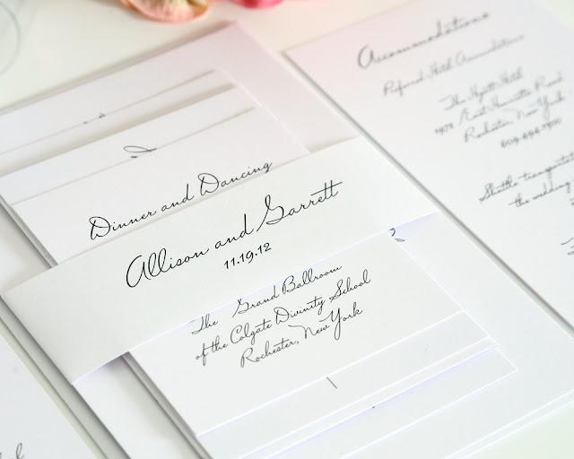 Planning+All+White+Wedding+Inspiration+ +Wedding+Stationery+Invitation+03 louisville wedding blog the local louisville ky wedding resource,All White Wedding Invitations
