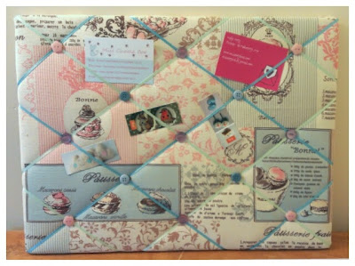 Miss Chaela Boo: Crafty Creatives Box 12 - memo board