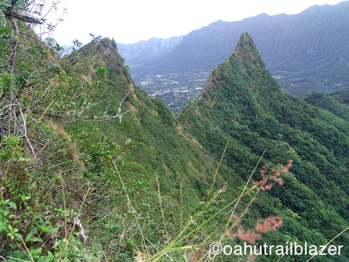 Ridge Hike Oahu Oahu's Olomana Ridge is For