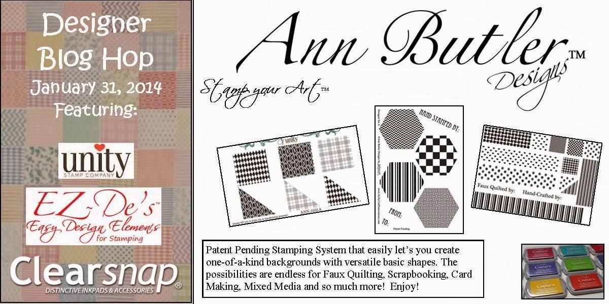 Ann Butler Blog Hop