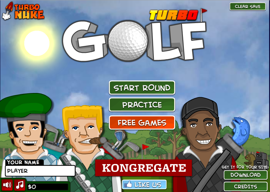 Game Online Golf Tour Gratis