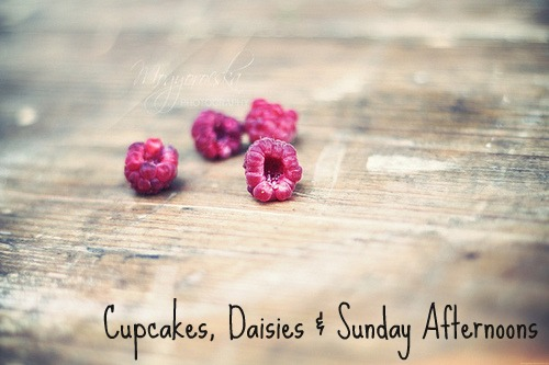 Cupcakes, Daisies & Sunday Afternoons
