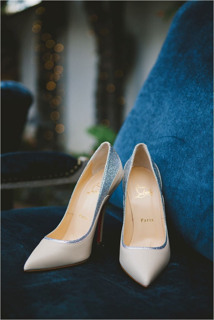 Nude bridal shoes // Photo by Closer to Love Photography via @thesocalbride