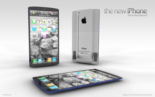 El iPhone 5 con una pantalla de celdas mas finas