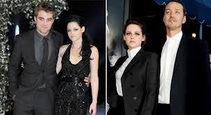 Robert Pattinson trono con Kristen Stewart