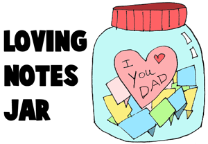 how to draw something for your mom and dad