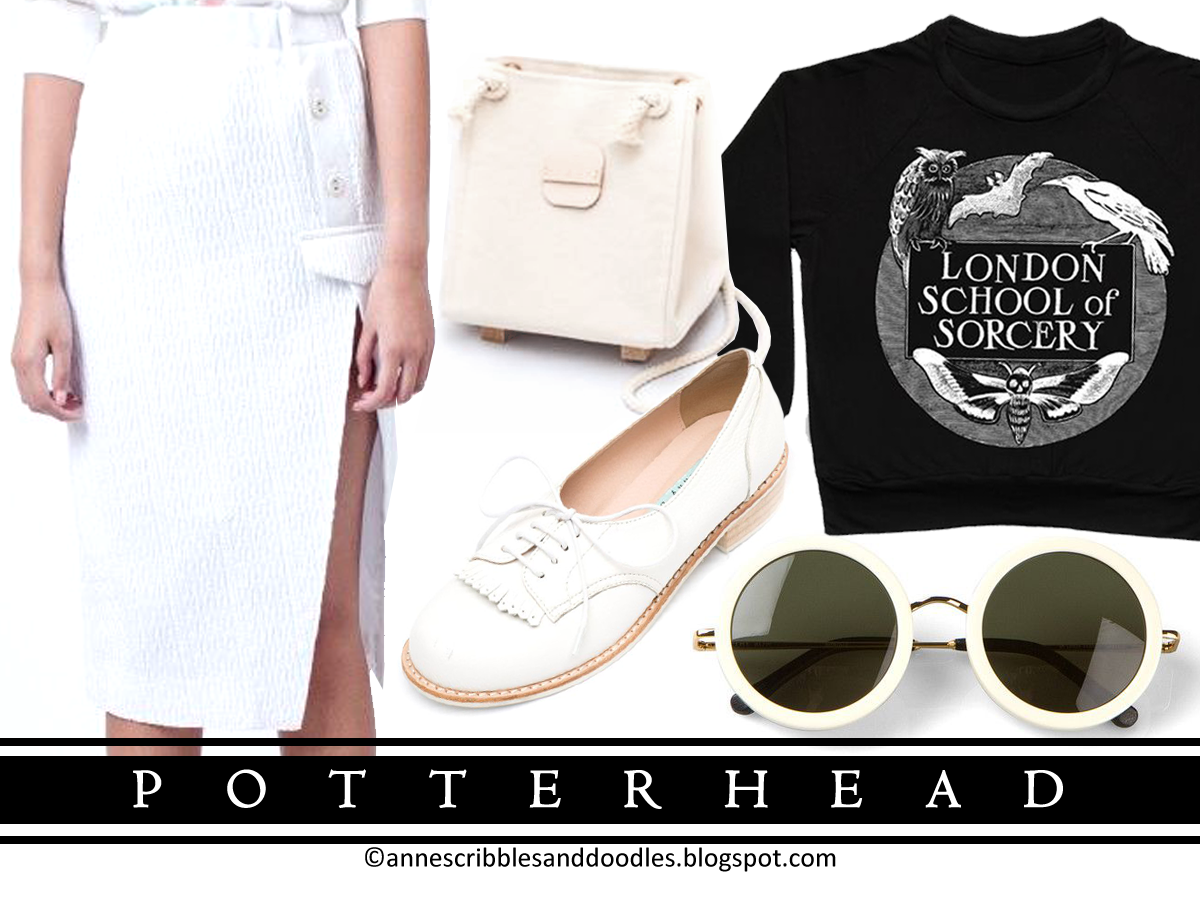 Black and White Fashion - Potterhead (Cross the Line)