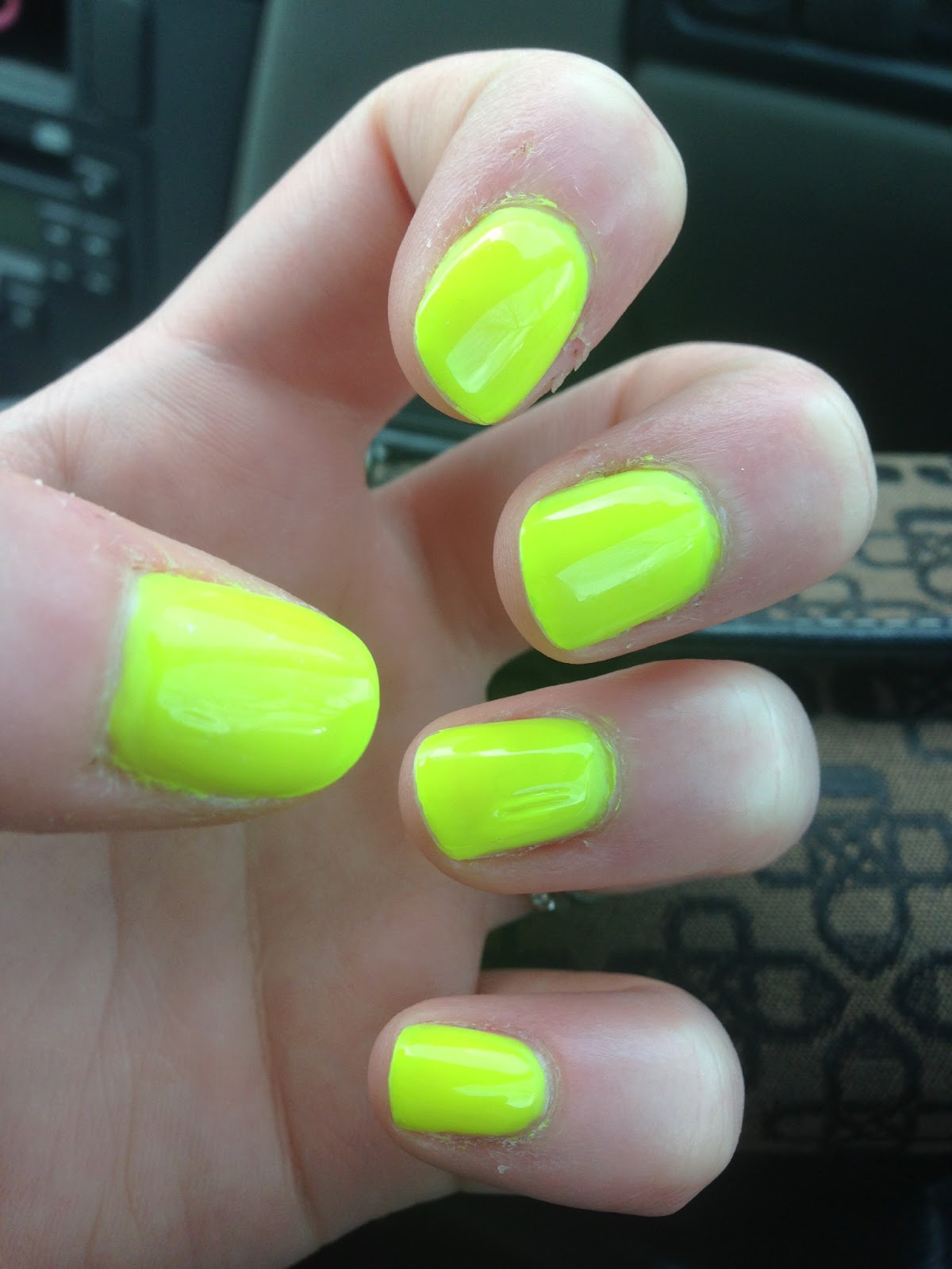 Polish Off the Bottle: Shot of the Day: Neon Mani with Nina Ultra ...