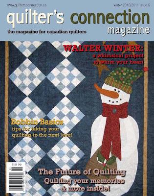 Pattern Published, Winter 2010