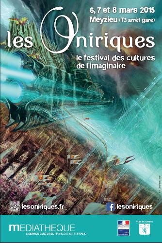 Affiche des Oniriques par Gilles Francescano