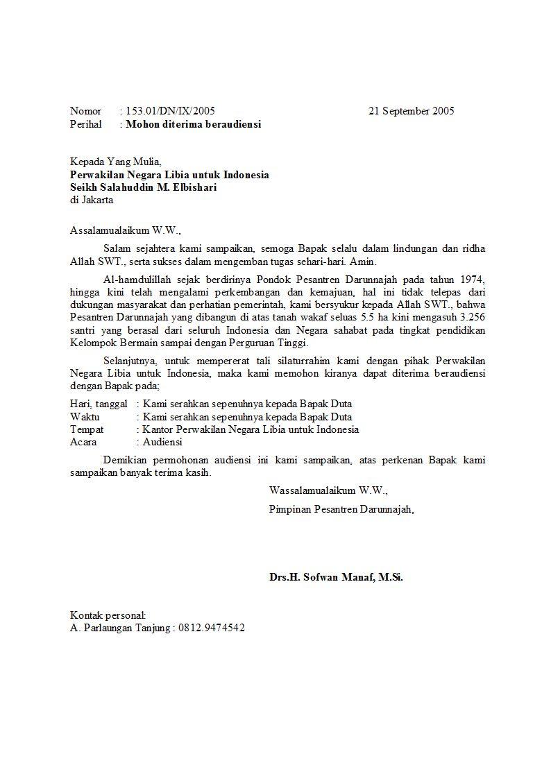 contoh surat resmi anneahira com ilustrasi contoh surat resmi jika