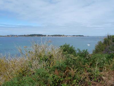 ブルターニュ GR34 アルクエスト岬 ブレア島