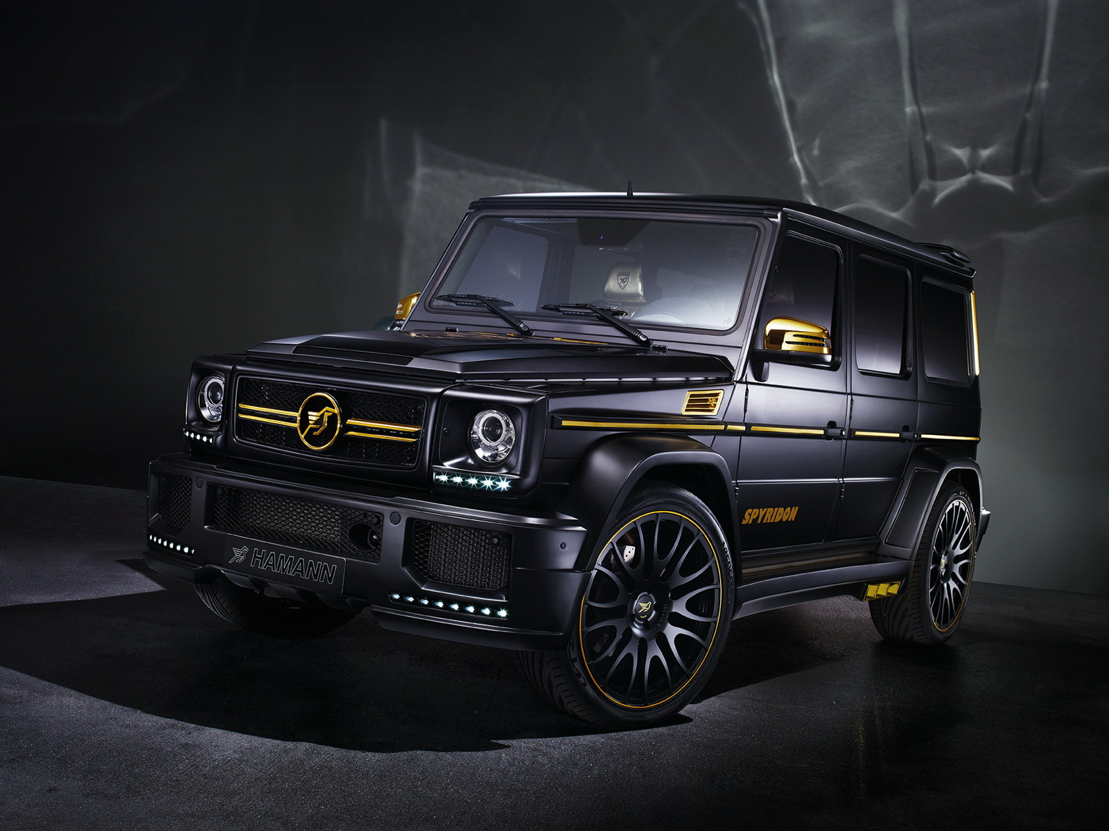 Hamann converts the mercedes benz g65 amg into the spyridon for Mercedes benz g65