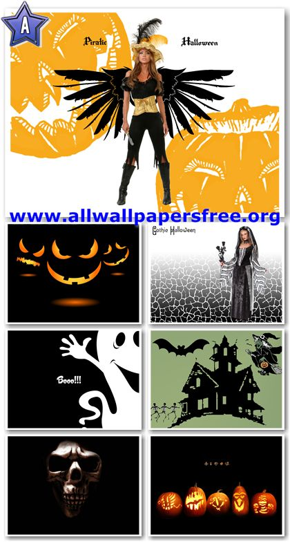 150 Halloween Wallpapers 1600 X 1200 Px