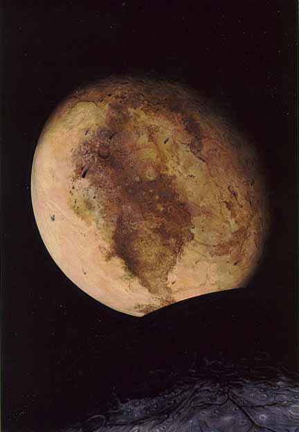 Artist's conception of Pluto