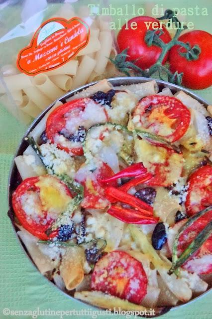 timballo di pasta alle verdure: dalla grecia senza glutine!
