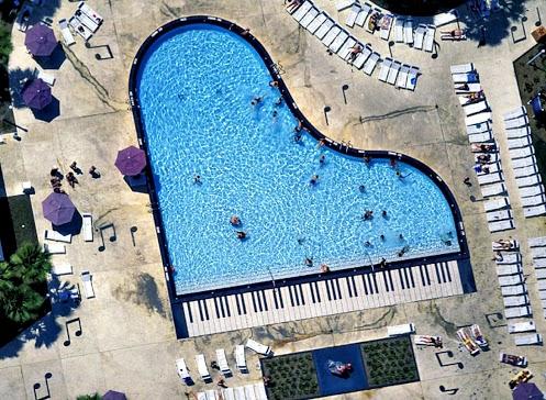 Bricolage e decora o v rias piscinas com formas de for Formas de piscinas