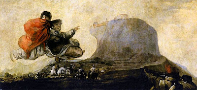 Fantastic Vision, or Asmodea (1819-1823), by Francisco de Goya - via Wikimedia Commons - public domain