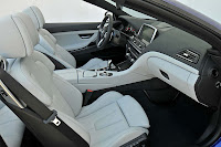 The new BMW M6 Convertible interior side