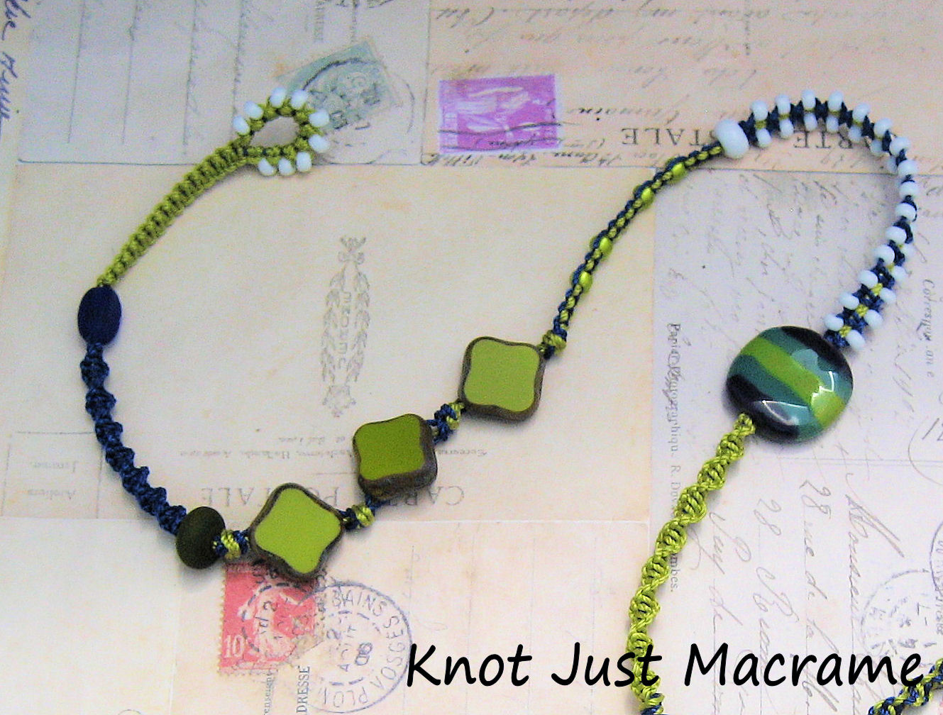 Knot Just Macrame By Sherri Stokey Multi Wrap Macrame Bracelet Tutorial