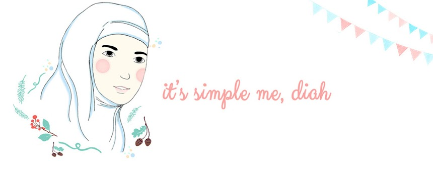 it&#39;s simple me, diah